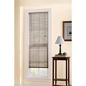 Mainstays Room Darkening Mini Blinds, Khaki Size: 31x72