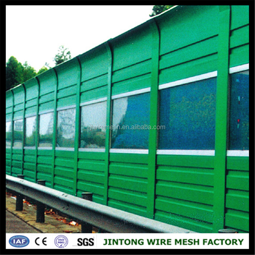Perforated Construction Temporary Noise Barrier Fence /soundproof ...