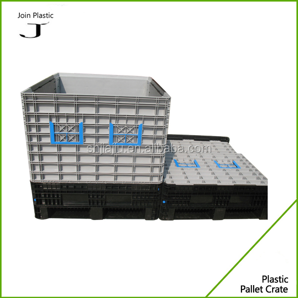 perforated container vented box,folding magnum and stacking container