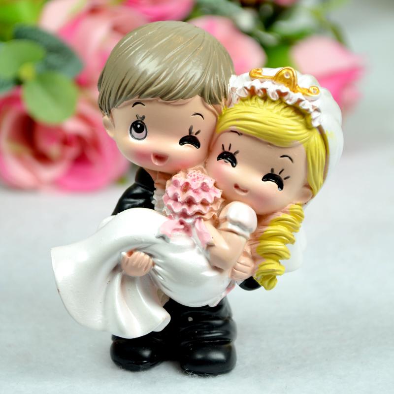Buy Doll Furnishing Articles Resin Crafts Home Decoration: Stylish-home-decor-furnishings-kawaii-cartoon-couple-dolls