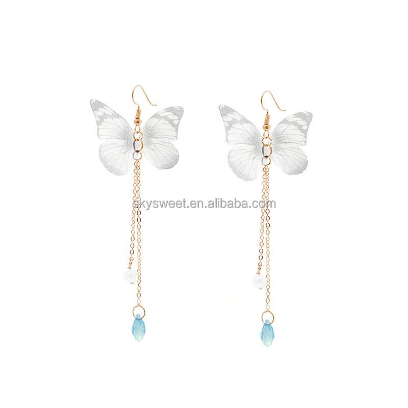 Butterfly Design Gold Earrings, Butterfly Design Gold Earrings ...