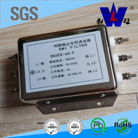 440VAC 20A power line dc noise filter for three phase equipments
