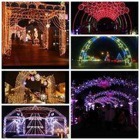 Customized Christmas Led Street Holiday Decoration Archway ...