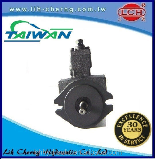 hydraulic vane pump with factory price flange parallel key