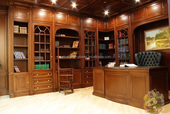 Antique bespoke Display Bookcase home library furniture