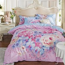 Professional hand embroidered bed sheet wholesale