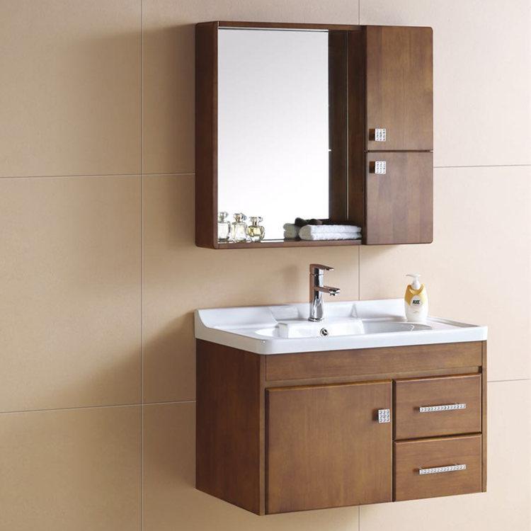 Bathroom Counter Wash Basin Wooden