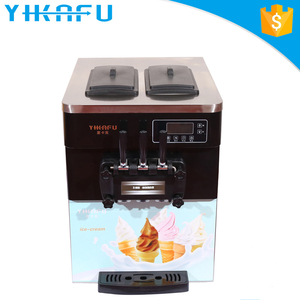 Factory mobile soft serve instant price ice rolls cream machine