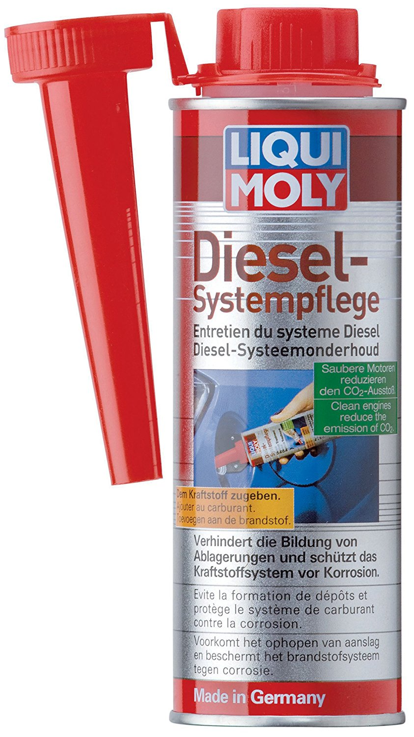 Liqui-Moly Diesel additive Common rail and Pump-jet technology