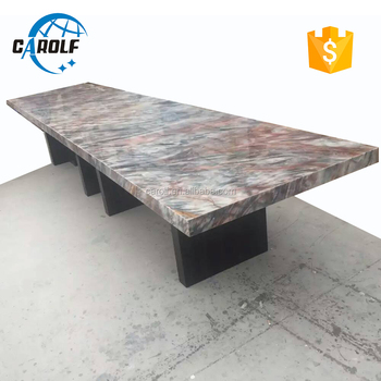 Carolf Supplier Larger 14 Seater Marble Top Dinning Table Buy