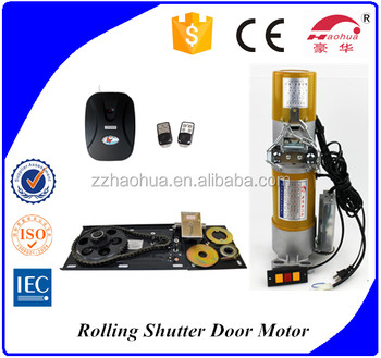 Ac 600kg univers remote control outdoor motorized roller for Motorized outside air damper