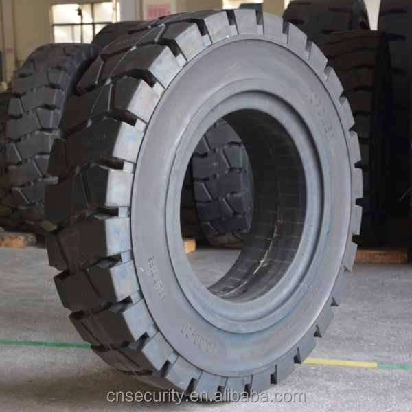 best price solid forklift tire for linde tire 300-15 China manufacturer