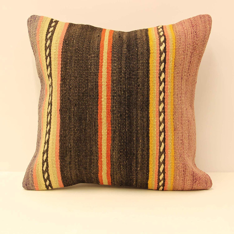 Get quotations · 18x18 45x45 cm kilim pillow throw pillow pillow cover home decor