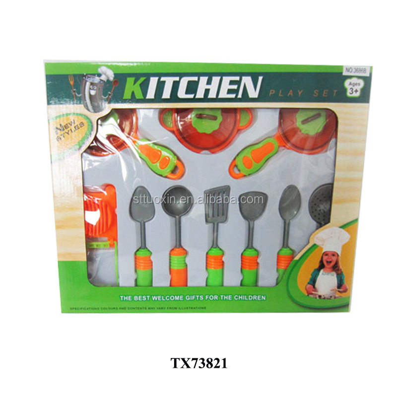 cute funny real kitchen children cooking play toy sets game