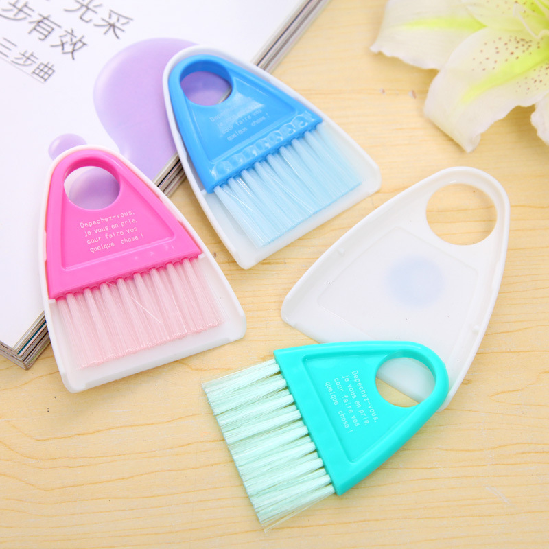Q1119 wholesale Korea Desktop mini keyboard cleaning brush