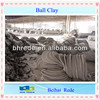 High Strength&Plasticity Noodle Shape Mixed China Ball Clay for Ceramic Tiles Body RTC-BC80