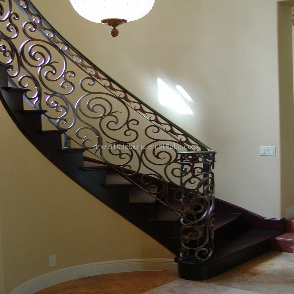 Pasamanos De Escaleras Interiores Fotos Barandillas De Hierro  ~ Barandas De Hierro Para Escaleras Interiores