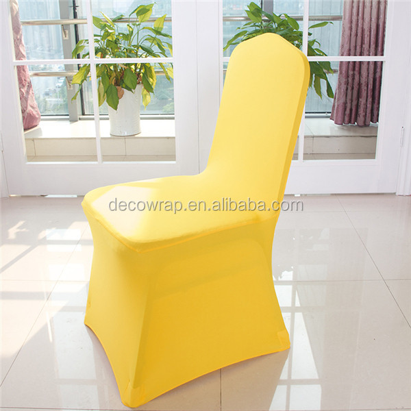 Factory Price Banquet White Wedding Chairs Cover Spandex