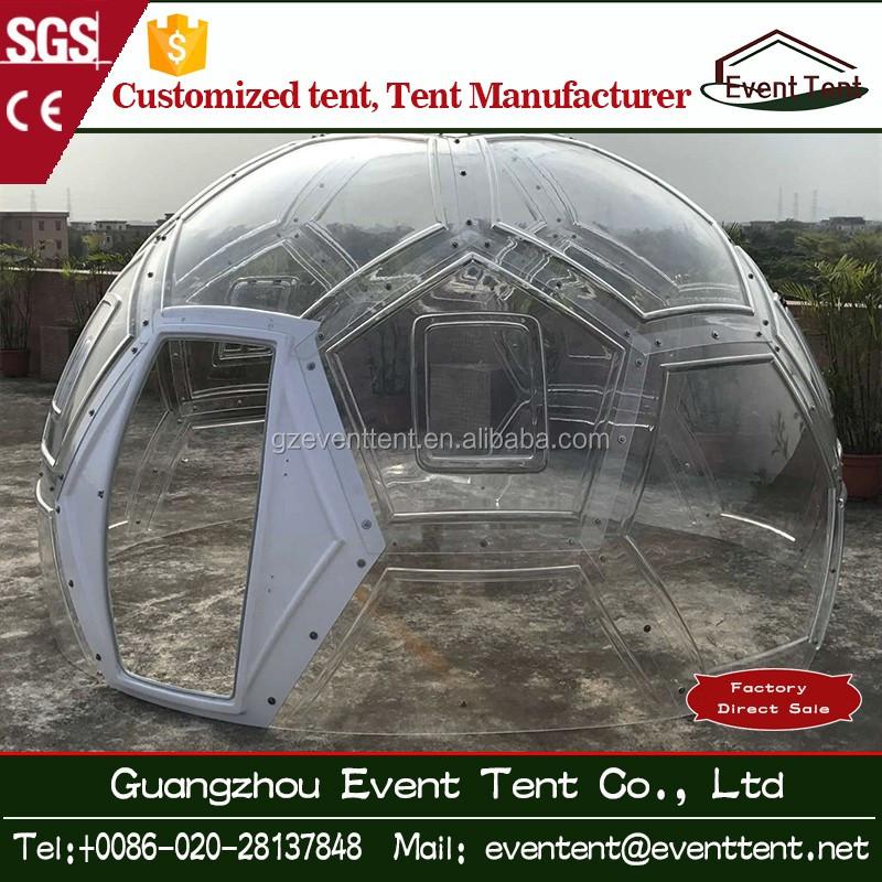 Car Fiberglass Dome Shelter : Clear transparent tent geodesic domes glamping fiberglass