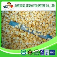 dehydrated dried Organic Cultivation vacuum packed sweet corn