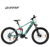 QUEENE/New Suspension Fork Bafang bbs M600 Mid Drive Motor 500w Fat Tire Electric Bike