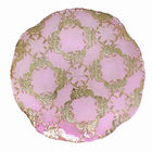 Dishes Plates Pink Charger SXGC Pink Flower Pattern Round Shape Charger Dinner Plates