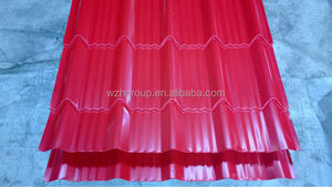 TCT 0.4mm thick sheet metal roof / corrugated PPGI / PPGL