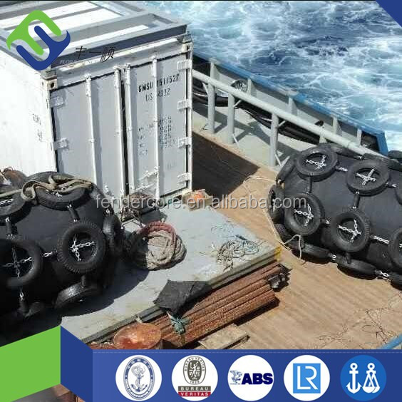 manufacture dock marine rubber tyre fender
