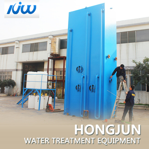 Industrial Water Treatment Purification Machines Lamella Clarifier Water Treatment Equipment Device