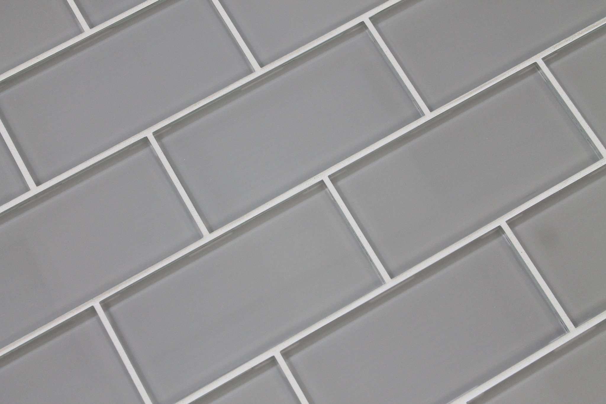 Buy 3x6 Grey Glossy Crackle Glazed Subway Ceramic Tile In Cheap
