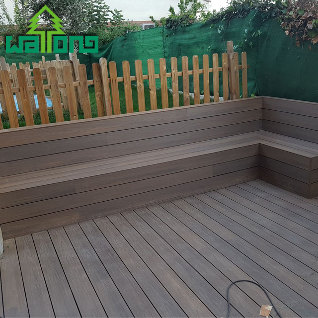 Co extrusie gelamineerd vloeren board voor outdoor deck composiet