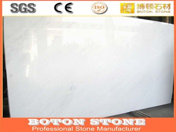 Agglomerated Marble Artificial Marble Floor Tiles Engineered Stone - Fake marble slab