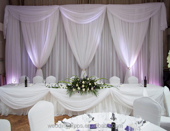 Fabric Curtain Stage Party Wedding Backdrop Stand Rentals Wedding  Decoration Ideas Wedding Backdrops - Buy Wedding Backdrops,Wedding  Decoration