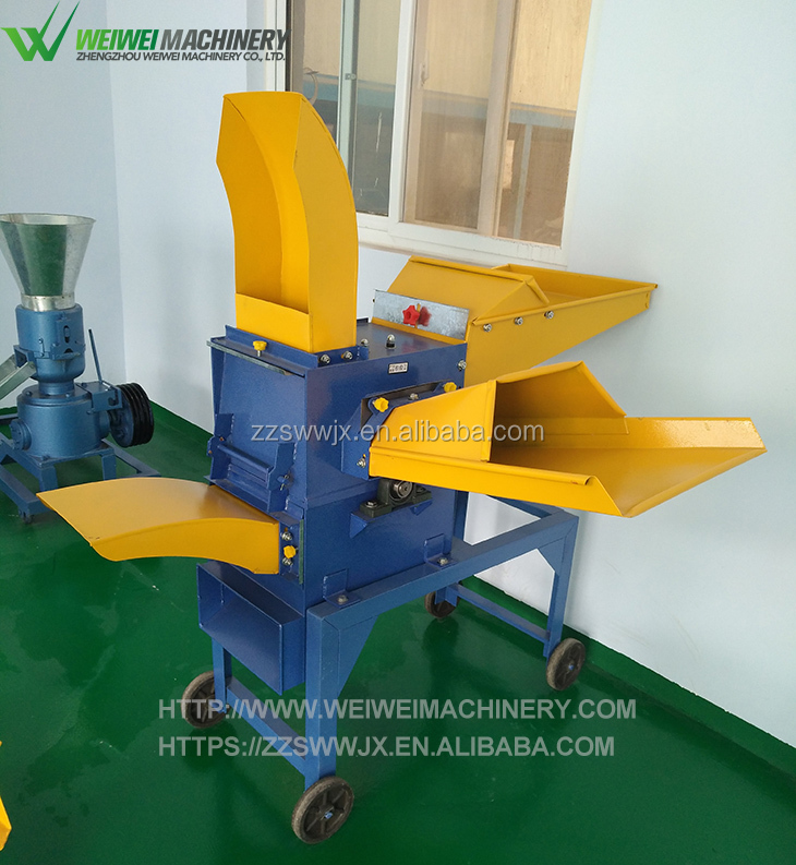 Weiwei feed cutter stalk pellet making equipments
