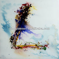 Business Name in Glass Painting Free Design