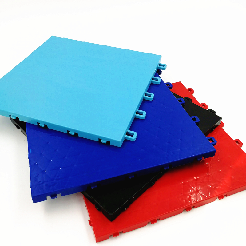 Antislip surface square badminton table tennis flooring layer sports