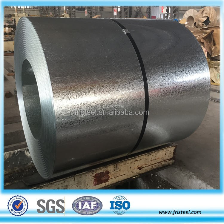 regular spangle Galvanized steel sheet coil price 0.25mm - 2.5mm