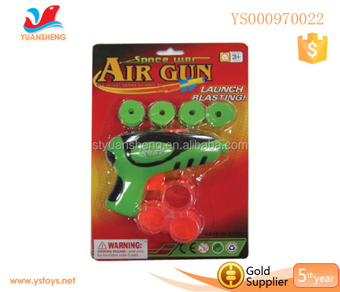 Flying Saucer Gun Toys For Kids,Disc Shooting Gun Game,Safe Gun Toys Plastic Bullet Gun