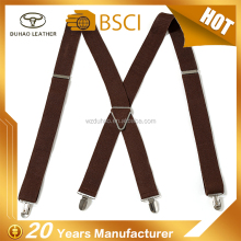 Cheap Price Casual Plain Color Men Suspenders Custom Suspenders For Man