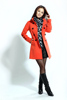 2014 winter Christmas Women Trench Coat With Good Quality Plus Size XXL Long Woolen Winter Jackets