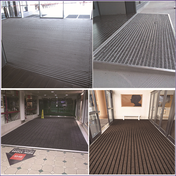Carpet Flooring Recessed Entrance Matting With Aluminum