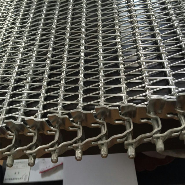 straight running spiral wire mesh conveyor belt for dry nuts roasting machine with good prices for auto washing machine