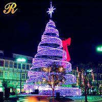 Alibaba express christmas wooden ornament tree