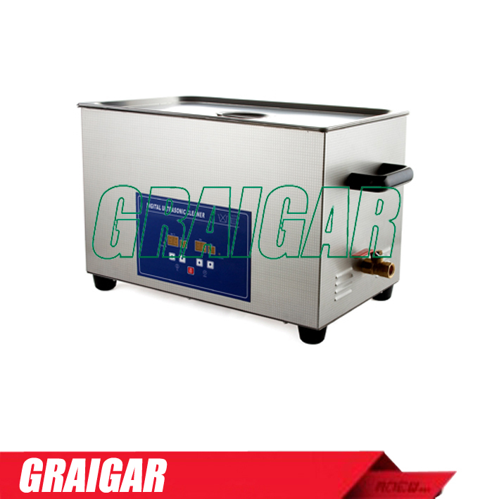 PS-80(A)(with Timer & Heater) Large capacity Digital Ultrasonic Cleaner Wide-Diameter Transducer for Best Cleaning Result