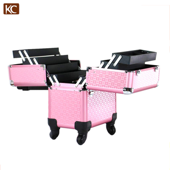 Fashionable Hair / Barber Aluminum Hairdressing Tool Case