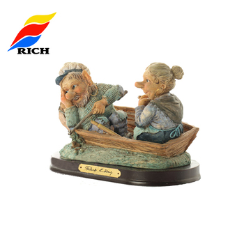 Custom Promotional Cheap Cute Gift Decor Resin Crafts Love Couple Statue,Love Couple Statue