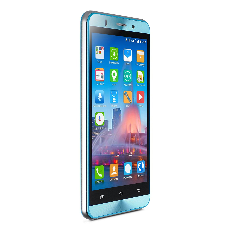 Xgody X15 Celular Unlocked 5 Inch HD Android 5.1 Dual SIM GPS MTK6580 Quad Core Blue