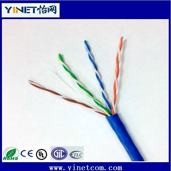 High Speed Transmission Utp Cif 26Awg 4Pairs Cat5e Network Cable Cable