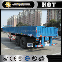 CIMC three axle stake semi-trailer truck for cargo transport