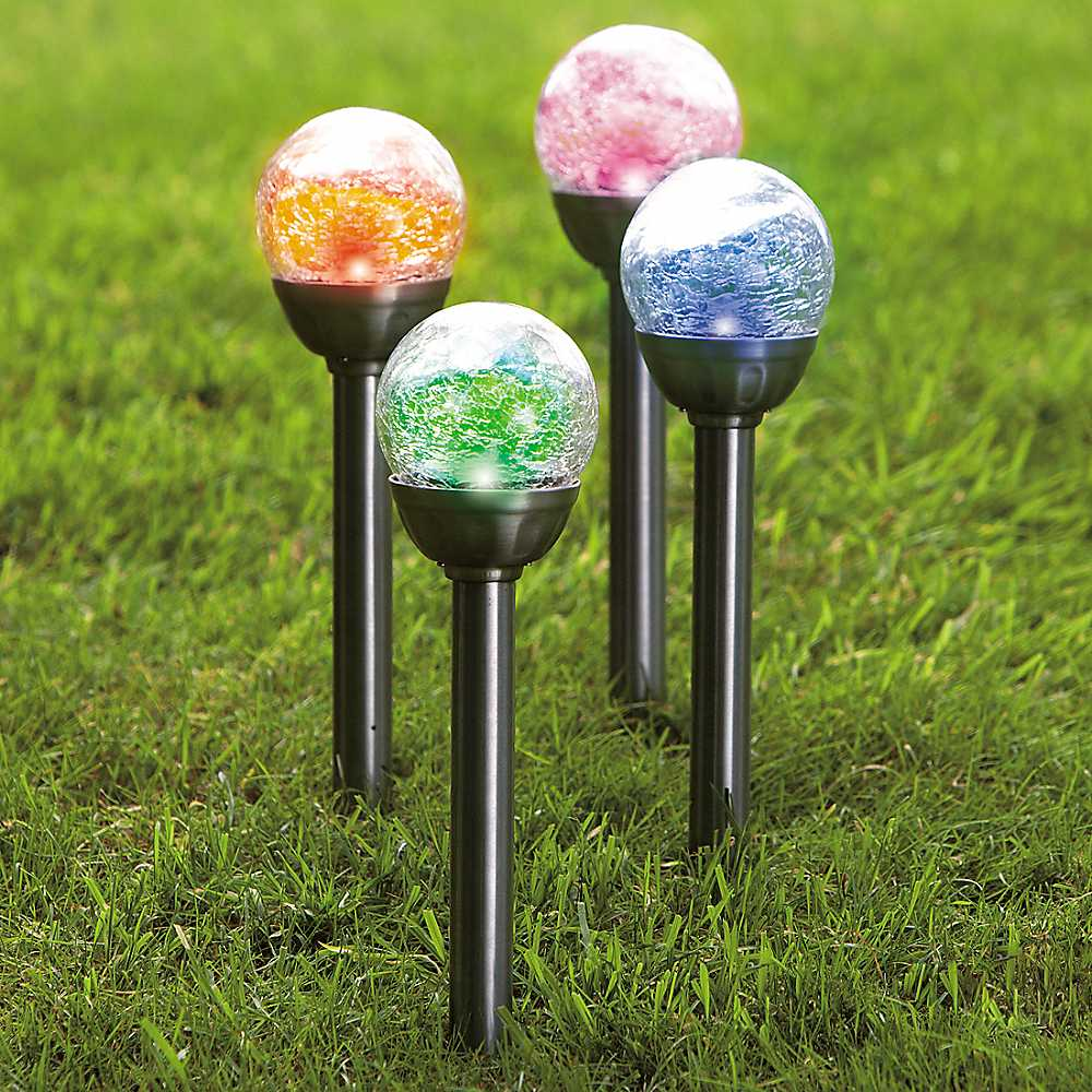 Solar Crack Glass Garden Light, Solar Crack Glass Garden Light ...